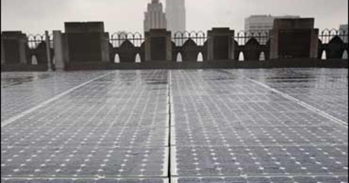 Can T Afford Solar Panels Lease Them Cbs News