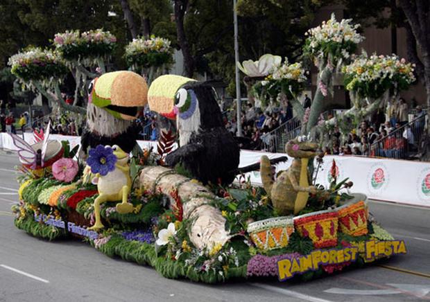 Flowers, Floats & Bam!