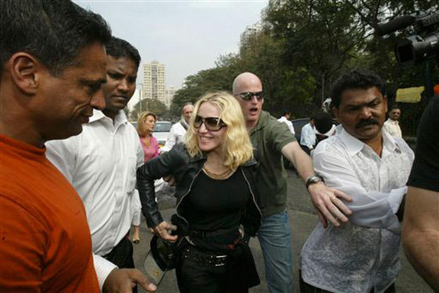 Madonna In India