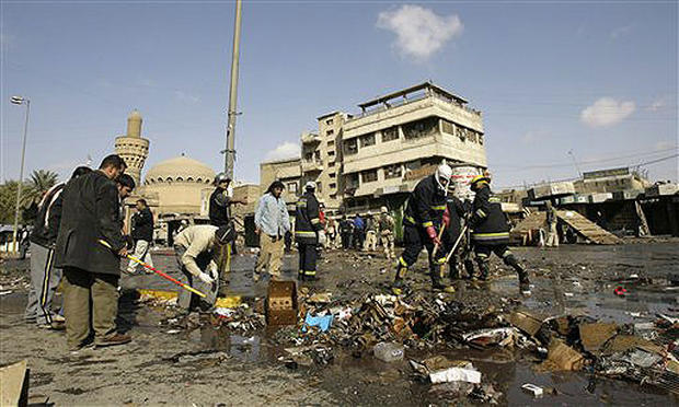 Baghdad Pet Bazaar Blasts