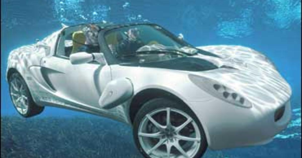 Swiss Invent Bond-Esque Underwater Car - CBS News