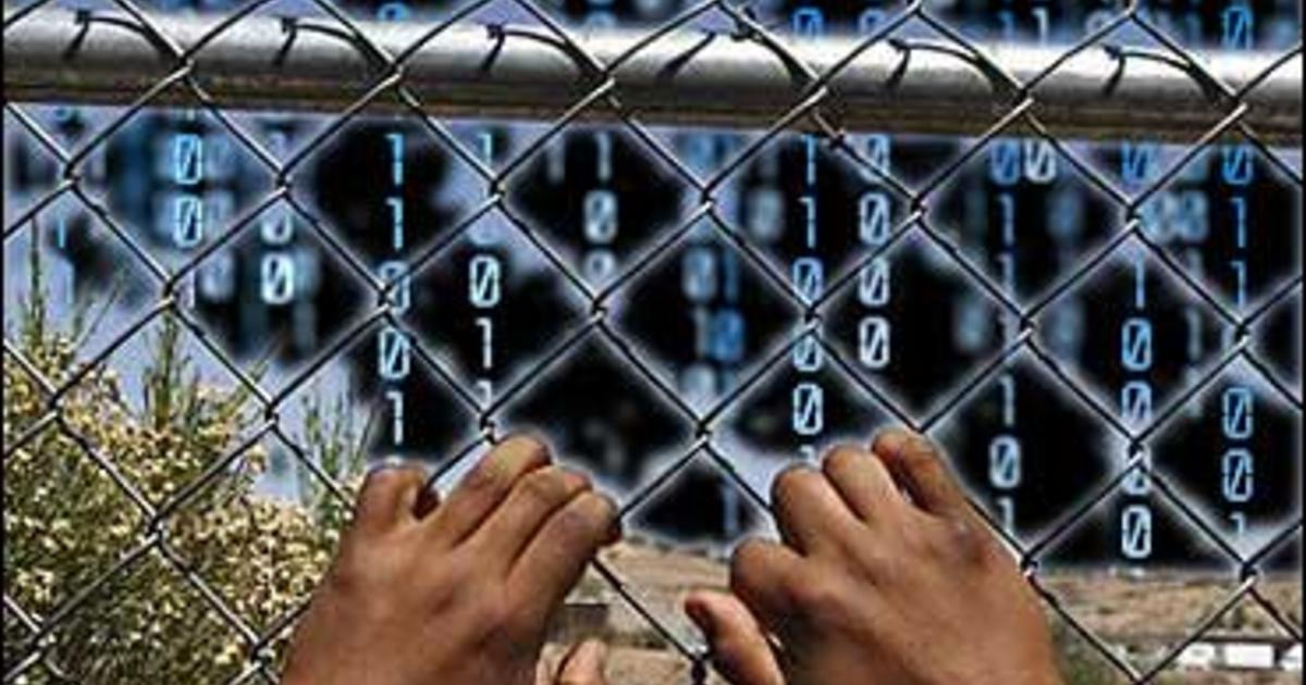 Quot Virtual Quot Fence Approved For U S Border Cbs News