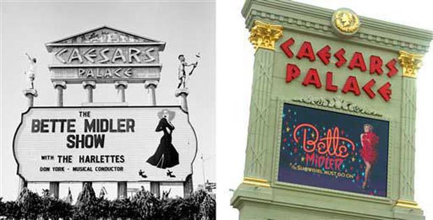 Bette Midler Opens In Vegas