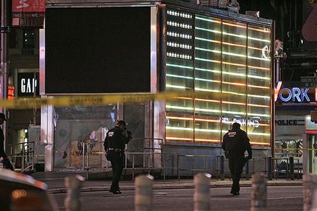 Blast Rattles Times Square