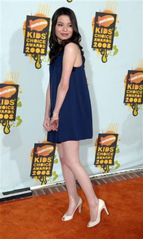 2008 Kids' Choice Orange Carpet
