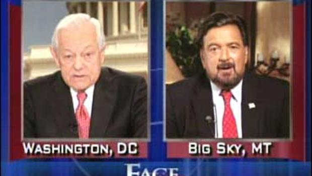 "Gov. Bill Richardson on ""Face The Nation"" with Bob Schieffer"