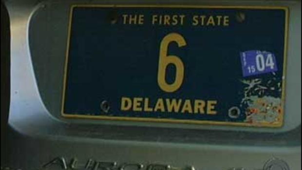 The $675,000 License Plate - CBS News
