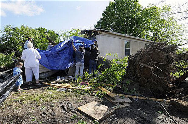 Storms Slam Midwest