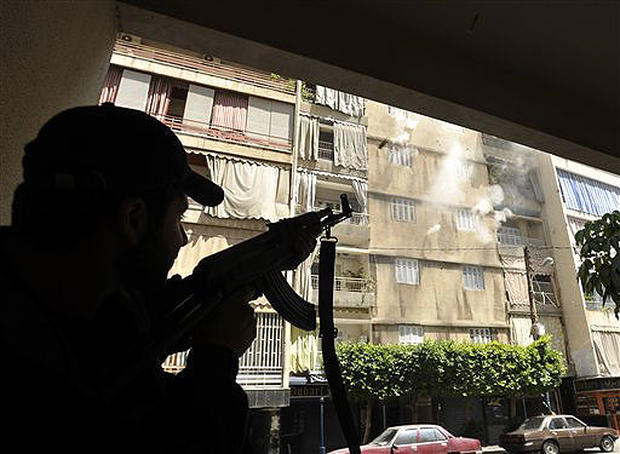 Muslims Clash In Lebanon
