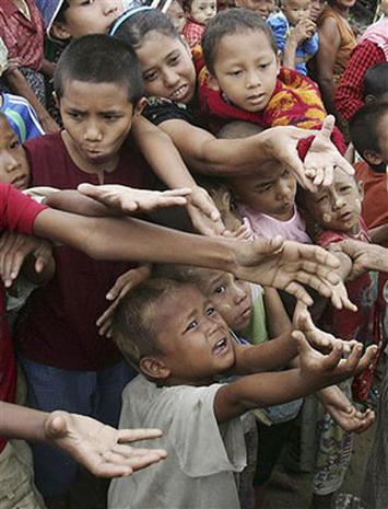 Feeding Myanmar's Hungry