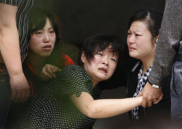 China Grieves