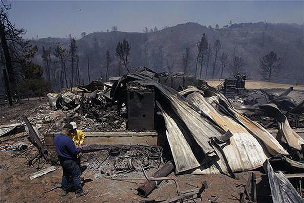 Central Calif. Wildfires