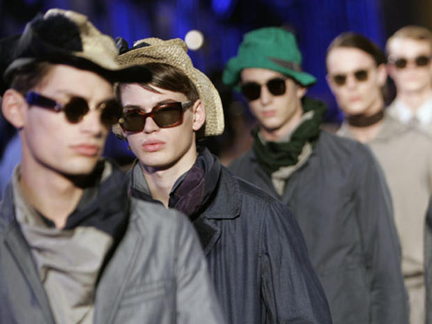 Men's Fashion Lines Crossed