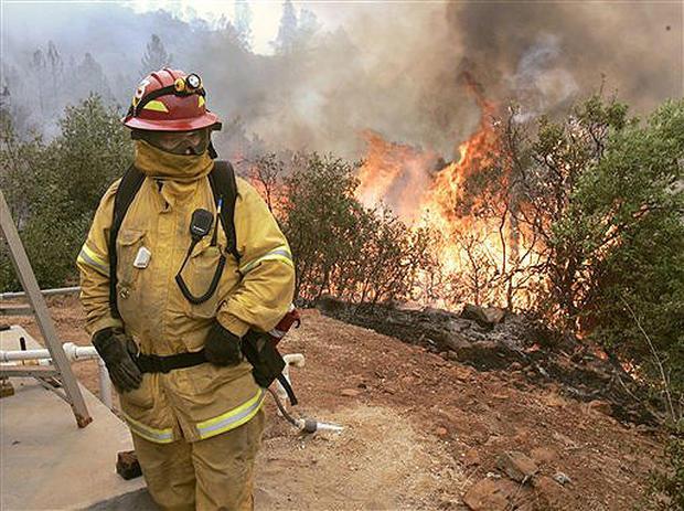 California Fires Persist