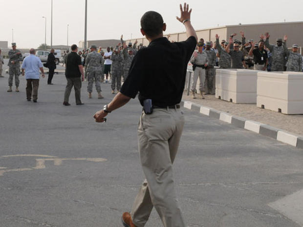 Obama In Mideast