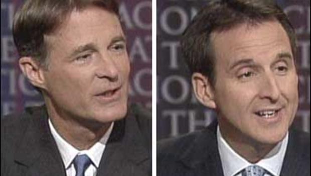 """Senator Evan Bayh, D-Ind., and Gov. Tim Pawlenty, R-Minn., on """"Face The Nation."""""""