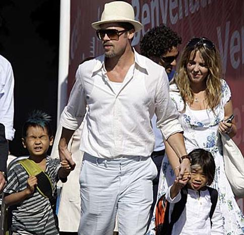 Clooney, Pitt Open Venice