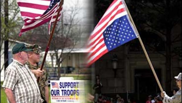 How Do You Define Patriotism  Cbs News