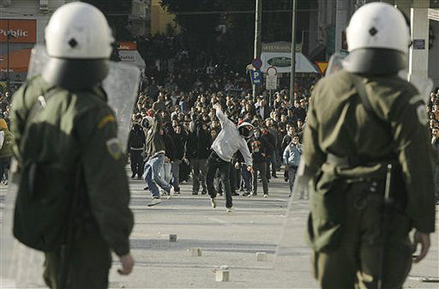 Riots Rock Greece