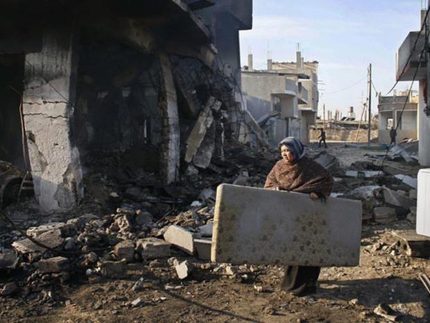 Gaza Fighting Rages