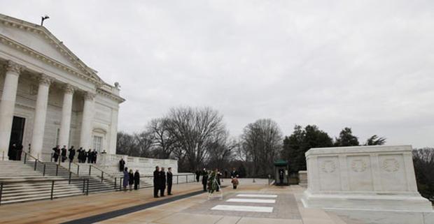 Obama At Arlington
