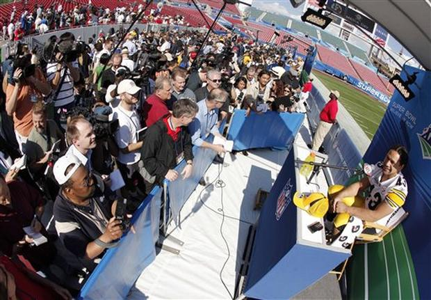 Super Bowl XLIII Media Day