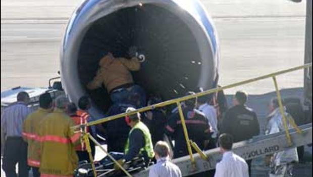 Jet Lands Safely After Bird Hits Engine - CBS News