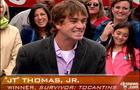 """Survivor winner James """"JT"""" Thomas Jr."""
