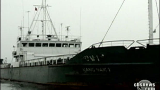 North Korean ship Kang Nam