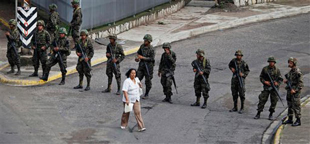 Military Coup In Honduras
