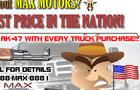 Max Motors - Website