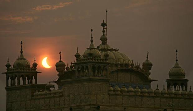 Century's Longest Solar Eclipse