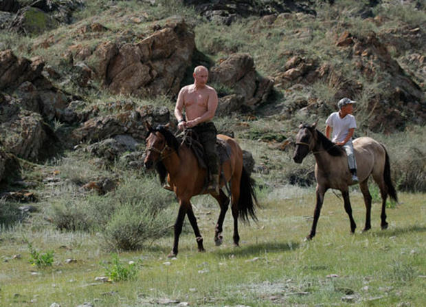 Putin Vacations in the Mountains