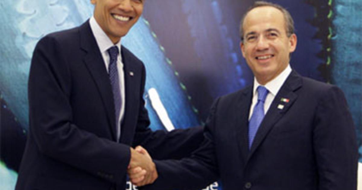 obama and calderon meet