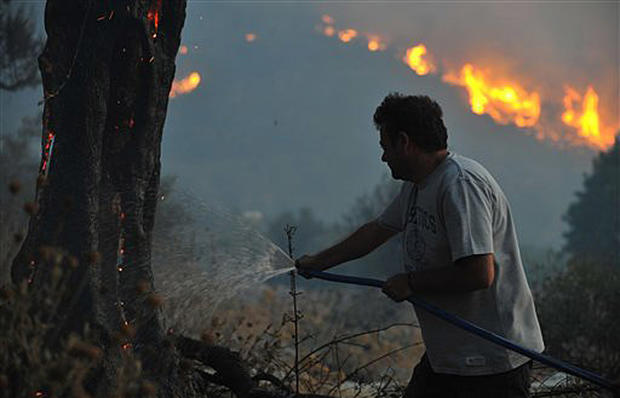 Fires In Greece