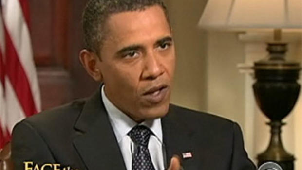 """President Barack Obama, in an interview with """"Face the Nation"""" host Bob Schieffer broadcast Sunday, September 20, 2009."""