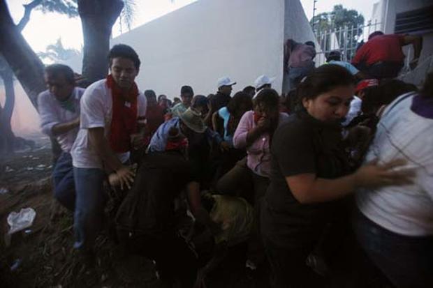 Rioting Over Honduras Coup