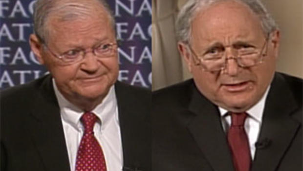 """Rep. Ike Skelton, R-Mo., and Sen. Carl Levin, D-Mich., on """"Face the Nation,"""" Oct. 4, 2009."""