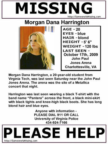 Morgan Harrington Murder
