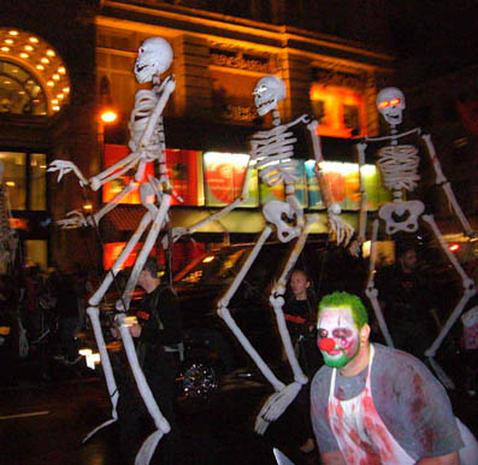 NYC Halloween Parade 2009