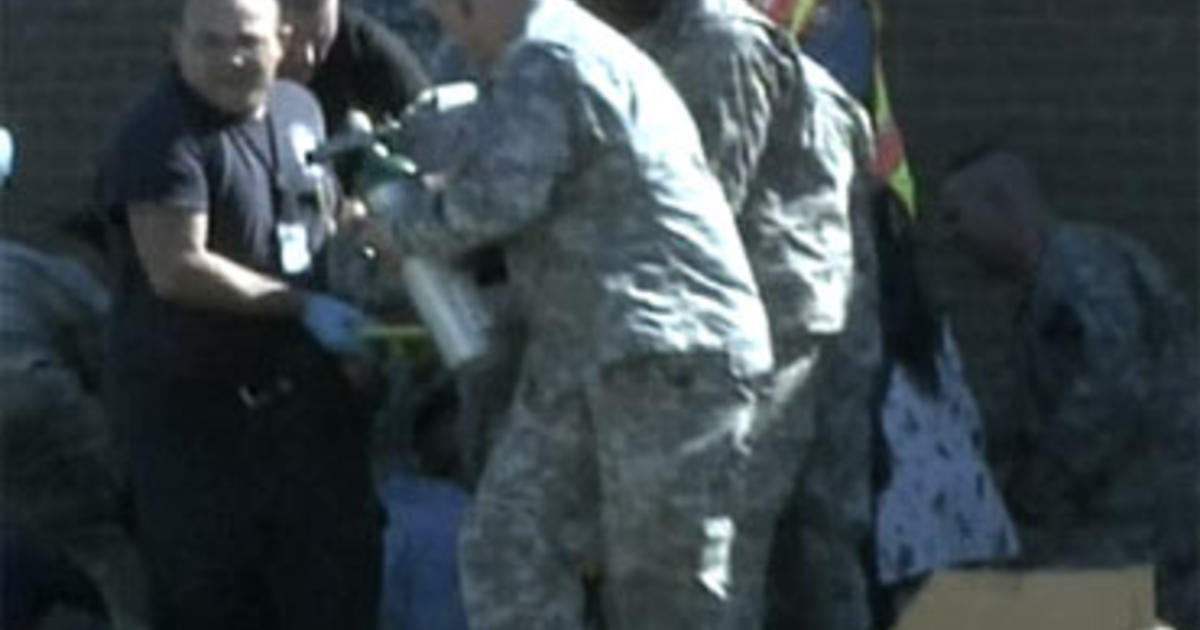 Soldier Opens Fire at Ft  Hood