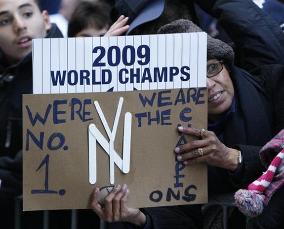 Yankees Victory Parade