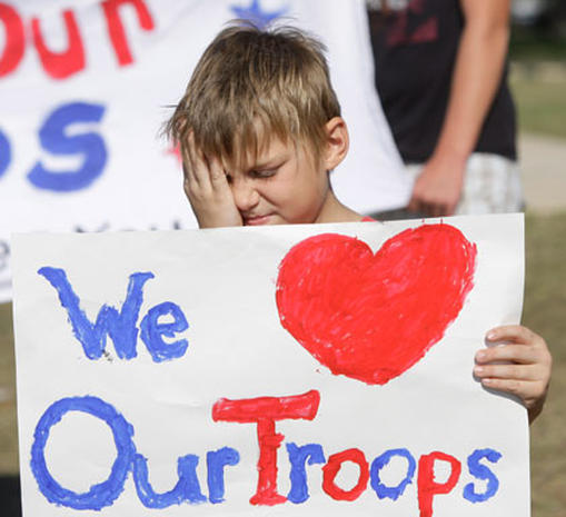 Mourning the Fort Hood victims