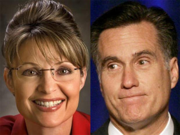 Sarah Palin and Mitt Romney