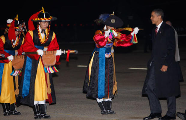 Obama in South Korea