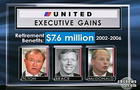 CAROUSEL - United executives retirement benefits