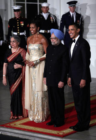 Scenes from the State Dinner