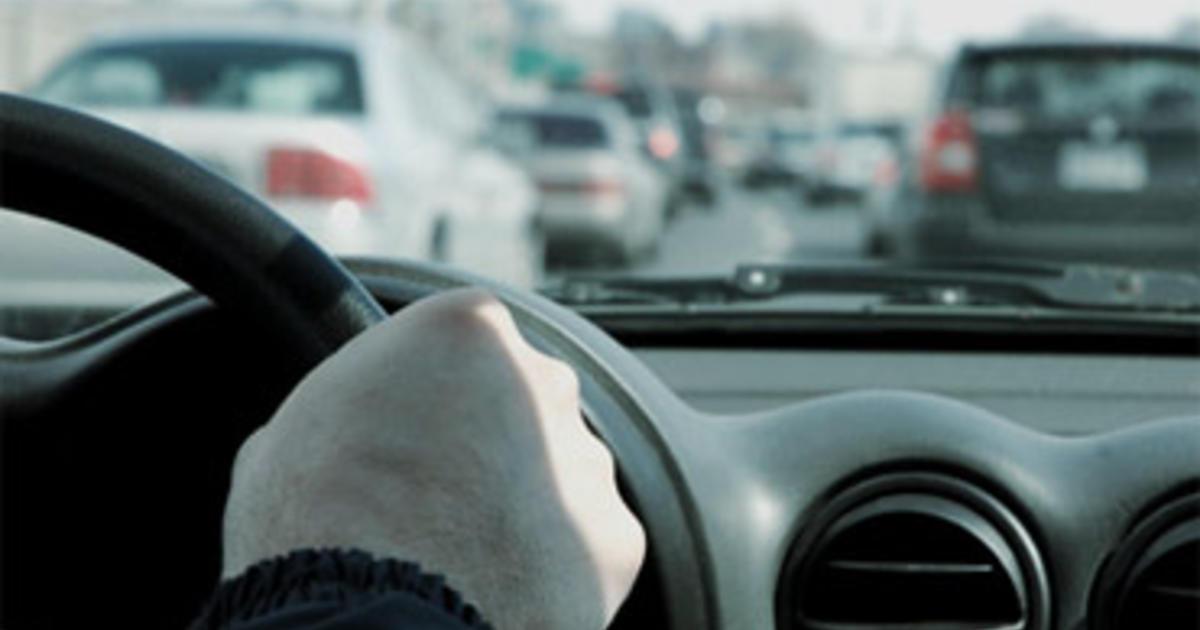 Cops Car full of people in PJs may mean rush hour