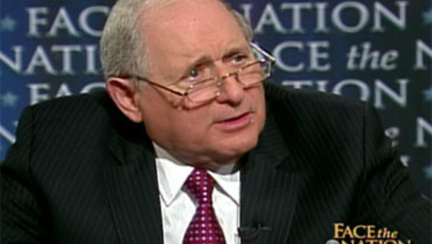 "Sen. Carl Levin, D-Mich., on ""Face the Nation."""