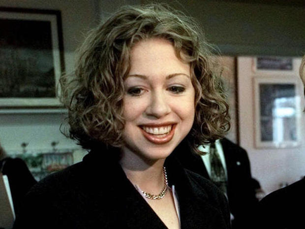 Chelsea Clinton through the years